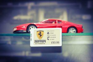 Display Data Ferrari ESL Cloud Solution