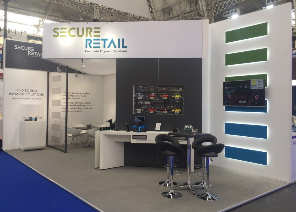 Secure Retail RBTE 2018 Stand at Olympia